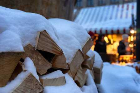 Wood Pile 300